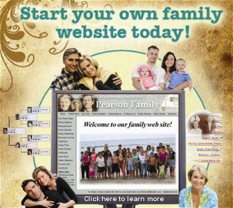 Start your own family website
